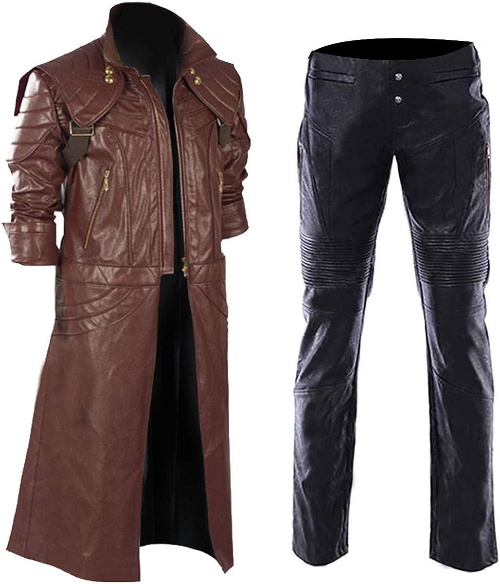 Mens Devil sale Dante Ranking TOP16 Leather Costume Cosplay