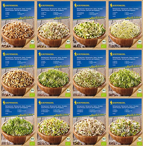 Kiepenkerl Bio-Keimsprossen-Set 12 Sorten
