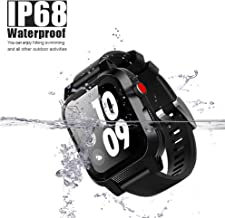 Apple Watch Waterproof Case for Serise 4, iWatch Case IP68 Waterproof Shockproof Impact Resistant Protective Case with Strap Bands for Apple Watch Waterproof Case (for Apple Watch Series 4-40mm)