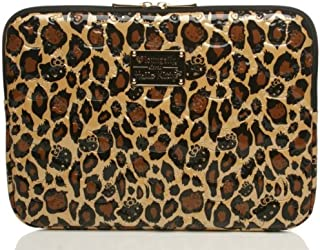 Sanrio Loungefly Hello Kitty Leopard Embossed Mac Laptop Case Fits 13