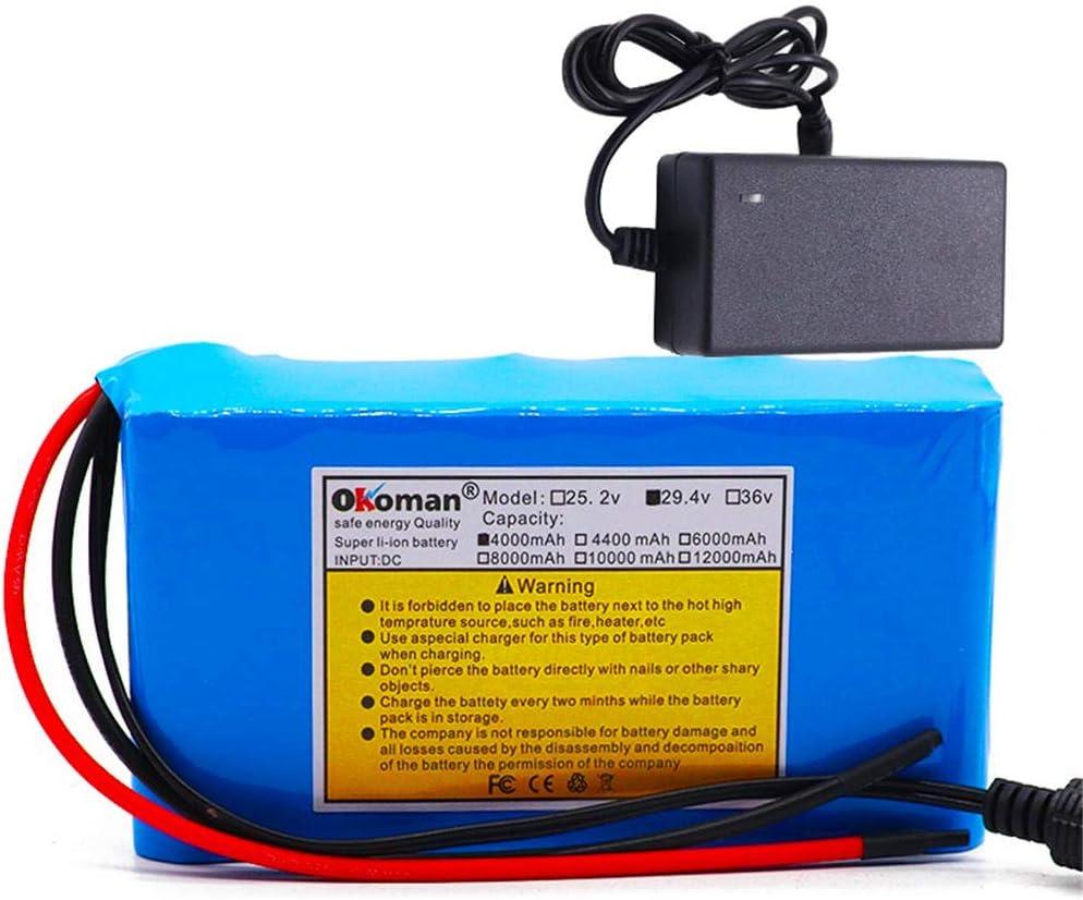 Batería de iones de litio de 29,4 v batería 18650 7S2P 4000 mAh bicicleta eléctrica ciclomotor/eléctrico/batería de iones de litio + cargador