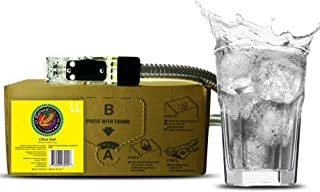 Bar Beverages Citrus Zest Craft Lemon Lime Soda (3 Gallon Bag-in-Box Syrup Concentrate) - Box Pours 18 Gallons of Lemon-Lime Soda - Use with Bar Gun, Soda Fountain or SodaStream