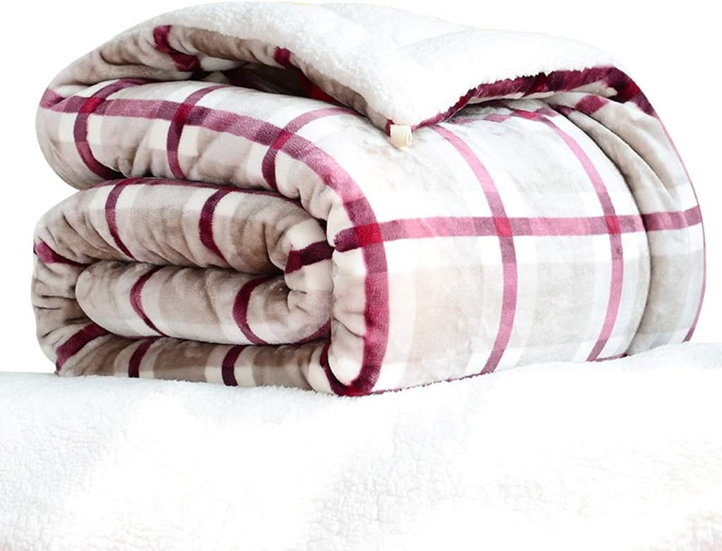 YULAN Blankets Blanket Quilt Double-Layer Department store Winter Thickening Outlet ☆ Free Shipping Warm