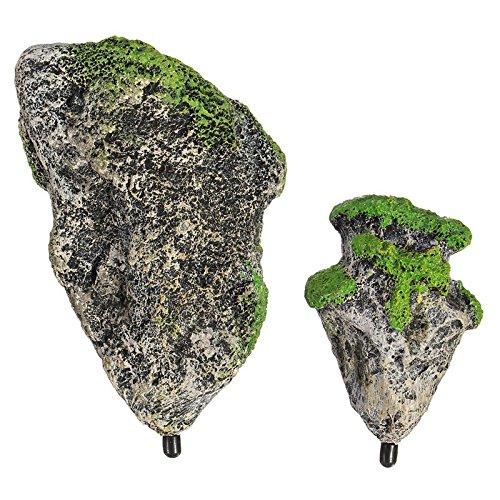 Aquarium drijvende rotsen geschorst stenen voor terrariums vis tank aquascape landschapsarchitectuur DIY decoratie hars ambachten