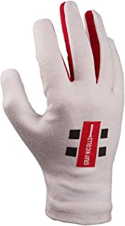 Gray-Nicolls 5208920 Men Inner Pro Full Batting Jun Gloves - White, Medium