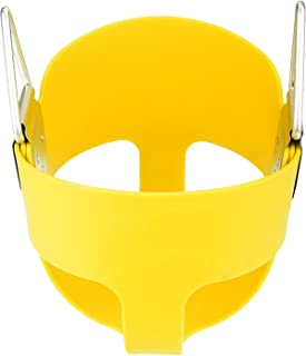 yellow baby swing