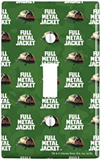 GRAPHICS & MORE Full Metal Jacket Born to Kill Plastic Wall Decor Toggle Light Switch Plate Cover