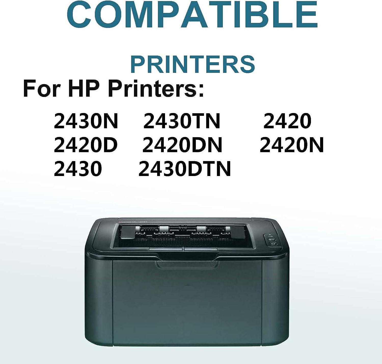 4-Pack Compatible High Capacity 11X (Q6511X) Toner Cartridge use for HP 2430N 2430TN Printer (Black)