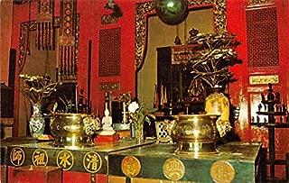 Snake Temple Penang Malaysia Postcard