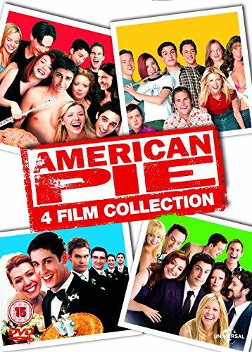 American Pie/American Pie 2/American Pie: The Wedding/American... [Edizione: Regno Unito] [Italia] [DVD]