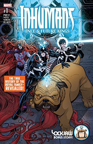 Inhumans: Once And Future Kings (2017) #1 (of 5) (English Edition)
