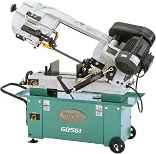 """Grizzly Industrial G0561-7"""" x 12"""" 1 HP Metal-Cutting Bandsaw"""