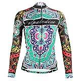 Maillot Bicicleta Mujer Ciclismo Camiseta Manga Larga Ropa Deportiva para Deport Fiteness Correr YogaTenis Suave Transpirable Cómodo Jersey de Ciclismo Ajuste Slim Fit (Color 9, EU S / Fabricante M)