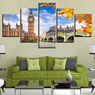 LIVELJ XXl,home Oil Paintings 5 piece canvas Prints art work Panels Modern Set Gallery HD Pictures Wall Decoration Large P...