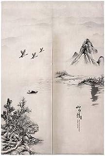comprar comparacion Black Temptation Cortina Tradicional Japonesa del Dormitorio de la Cortina de Noren de la Entrada Japonesa del Estilo Chin...