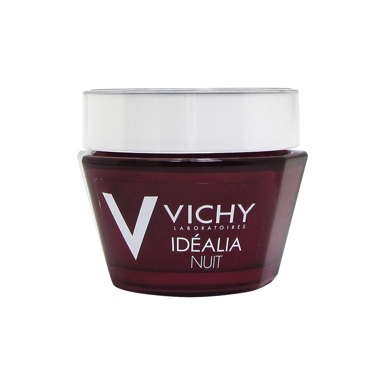 まともな法的消すVichy Idealia Night Cream 50ml [並行輸入品]