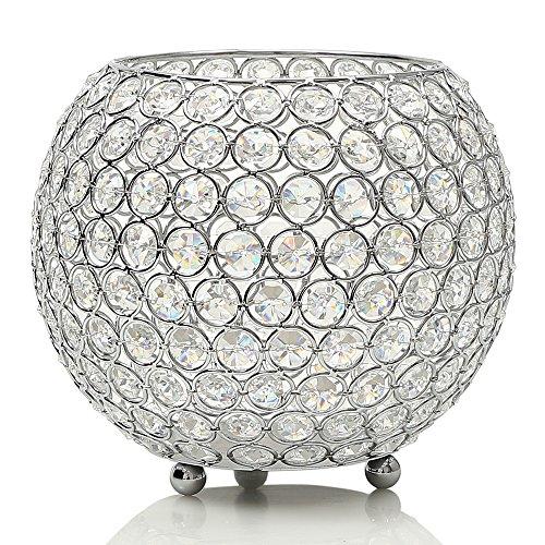 VINCIGANT Kristall Kerzenständer Dekoration Kerzenhalter Teelichthalter Dekorative Laternen für Zuhause Tischdekoration Hochzeitsmittel Geburtstagsgeschenk
