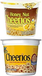 Honey Nut Cheerios and Cheerios Cereal Cups (24 cups total)