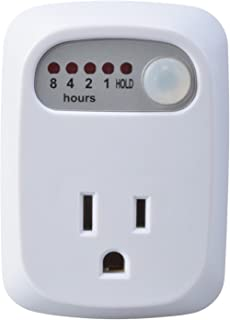 TEKLECTRIC Indoor Auto Shut Off for Curling Iron Hair Straightener Countdown Phone Charger Timer Safety Outlet Conserve Socket