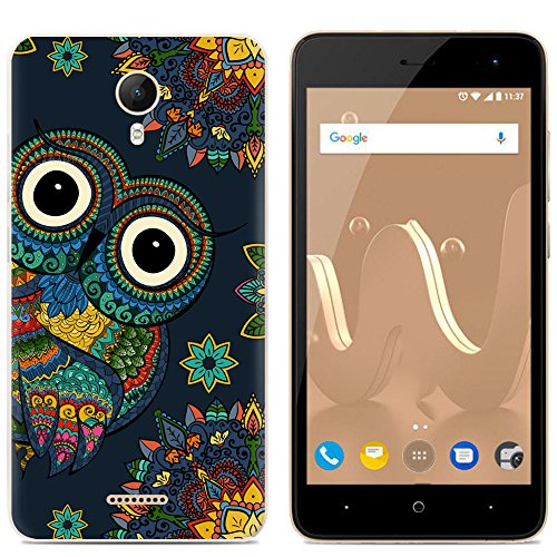 Easbuy Handy Hülle Soft Silikon Case Etui Tasche für Wiko Jerry 2 jerry2 Smartphone Cover Handytasche Handyhülle Schutzhülle