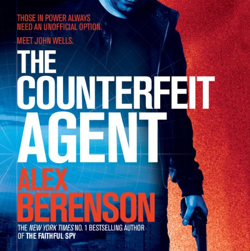 The Counterfeit Agent audiobook cover art