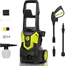 Sponsored Ad – 1500W 120Bar 420L/H Electric Pressure Washer, Car Power Washer Portable Patio Cleaner with brush, Turbo Noz...