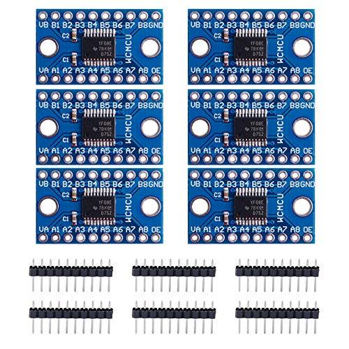GeeekPi 6Pack TXS0108E 8 Channel Logic Level Converter Bi-Directional High...