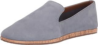 حذاء Aerosoles نسائي بدون كعب من القماش المزغب، أزرق متوسط، مقاس 11 عرض US