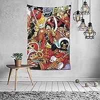 ワンピース モンキーd·ルフィ タペストリー 壁掛け インテリア 装飾用品 多機能 アニメ プレゼント 152×102cm