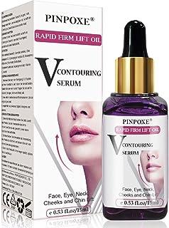Suero facial Suero Antienvejecimiento Suero facial en V Contorno de la barbilla Suero Antiarrugas línea en V de eleva...