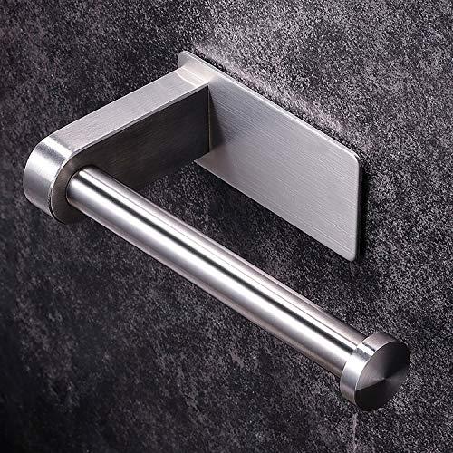 YIGII Edelstahl Toilettenpapierhalter/Klopapierrollenhalter Ohne Bohren Klopapierhalter Selbstklebender Klorollenhalter für Badezimmer
