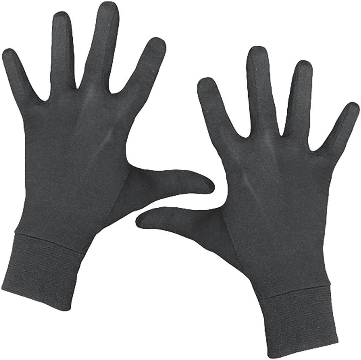 Terramar Thermasilk Spandex Glove Liner Black L