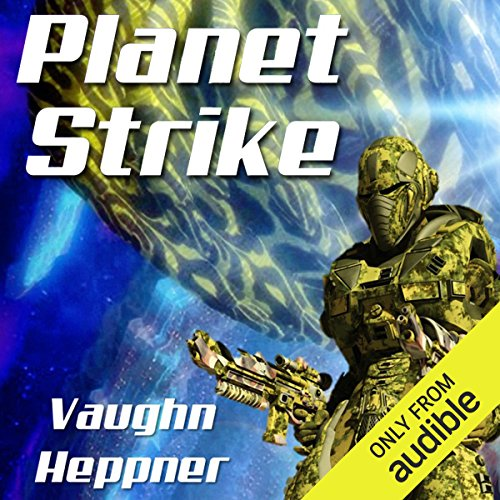 Planet Strike audiobook cover art