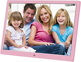 Metal Digital Photo Frame,15.4 Inch Widescreen 1280 * 800 High Resolution Full HD LCD Color Display, MP3 / MP4 Player with...