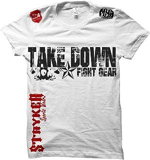 29fac2a59e061 Take Down Fight Gear Skull Star MMA UFC T-Shirt