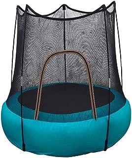 FXQIN Trampolín Inflable con Red Protectora para niños, Gorila Inflable, Cama elástica portátil para niños, Trampolín Deportivo para Interior y Exterior, Capacidad de Peso 60 Kg