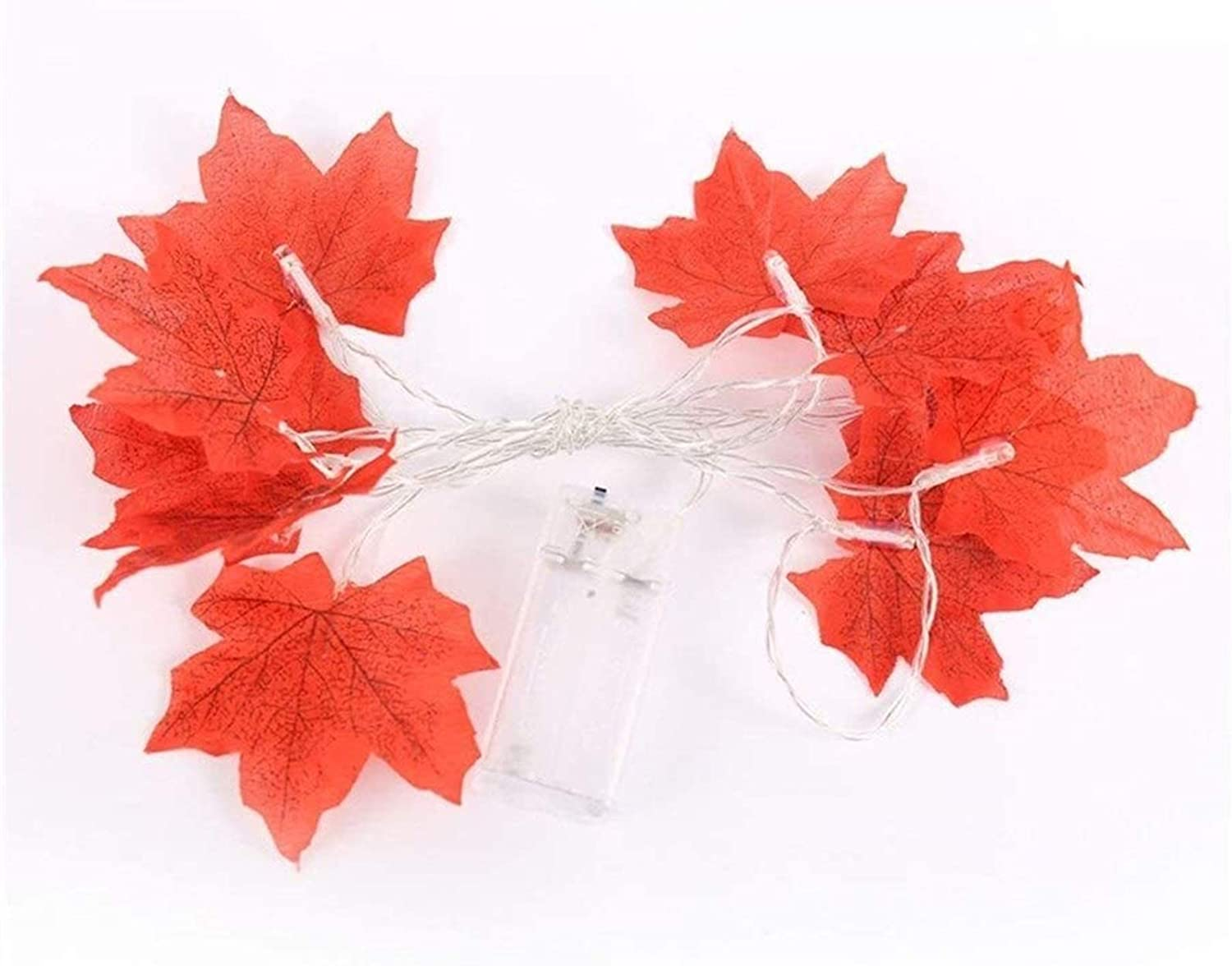 Cheap mail order shopping Outdoor Indoor String Lights Maple Decoration Leaves Fall Inexpensive