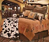Cowboy Branded Western Bedding Set King