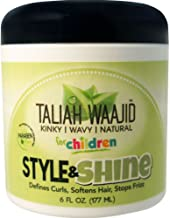 Taliah Waajid Herbal Style & Shine For Natural Hair, 6 oz (Pack of 2)