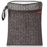 Skip Hop Waterproof Wet Dry Bag, Grey Feather