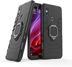Cocomii Black Panther Ring Xiaomi Mi A2/Mi 6X Case, Slim Thin Matte Vertical & Horizontal Kickstand Ring Grip Reinforced D...
