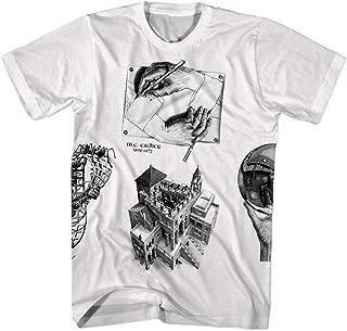 MC Escher Prints Puzzle Shirt Tshirts Mens Womens Art T Shirt