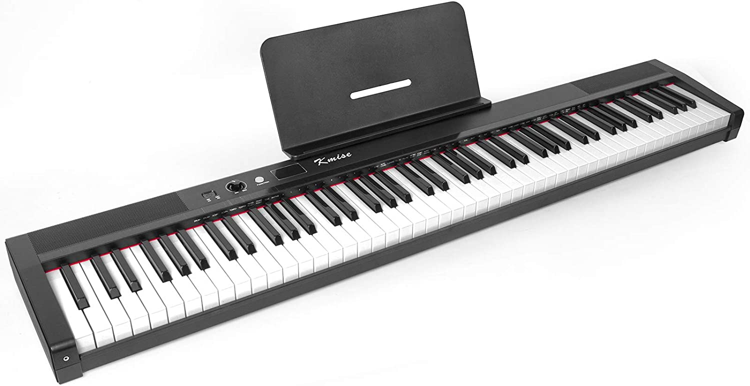 Kmise Ranking TOP15 Digital 67% OFF of fixed price Piano 88 Key Full Weighted Semi Electronic Size Ke