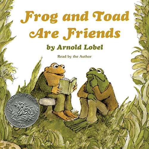 Frog and Toad Are Friends audiobook cover art