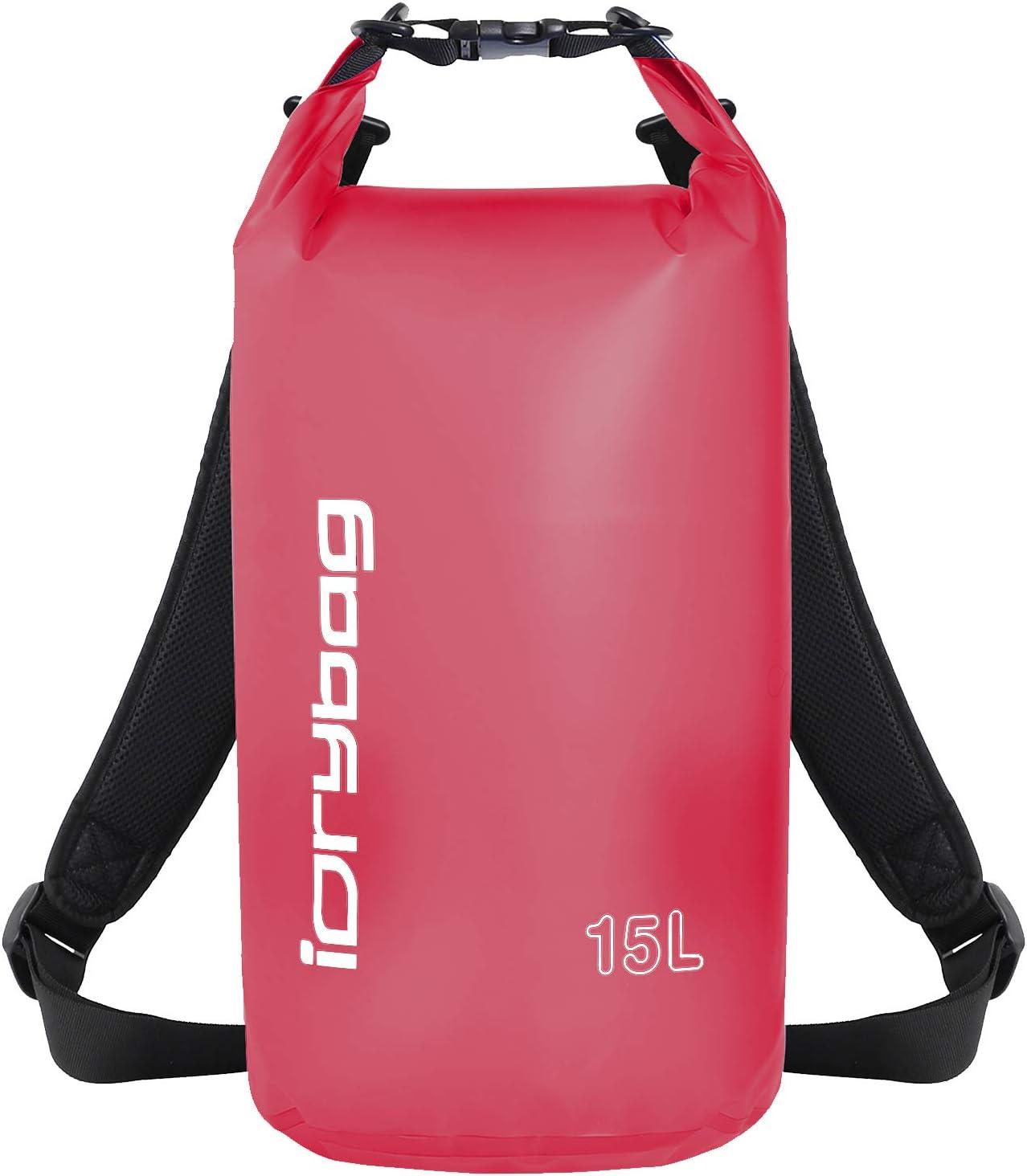 IDRYBAG Clear Dry Time sale Bag Waterproof Floating 5L 15L Opening large release sale 10L 2L 20L Lig
