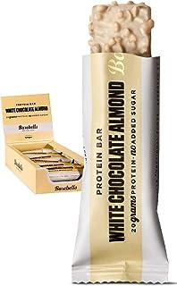 Barebells Protein Bar, 12 x 55 g Riegel (White Chocolate Almond)