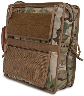 Tactical 3-Ring Binder Cover System/Fits 1.5-2 Inch Binders/Customize with Add-ons!