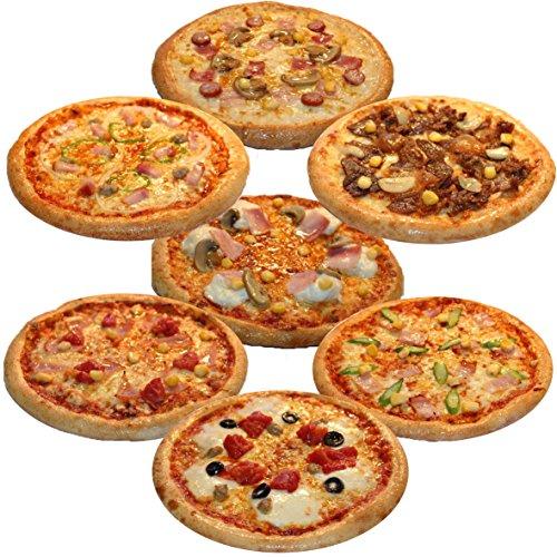 ピザ・カンピオーネ 冷凍 ピザ 7枚Bセット 【 ミックスピザ / 和風ビーフ / アスパラベーコン / ホワイトコンボ / ポテトベーコン / モッツアレラトマト / 厚切りベーコン 】 手作り 国産小麦 使用 直径約 直径約22cm