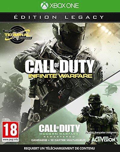 Activision Blizzard Call of Duty: Infinite Warfare Legacy Edition, Xbox One vídeo - Juego (Xbox One, Xbox One, FPS (Disparos en primera persona), Modo multijugador, M (Maduro))
