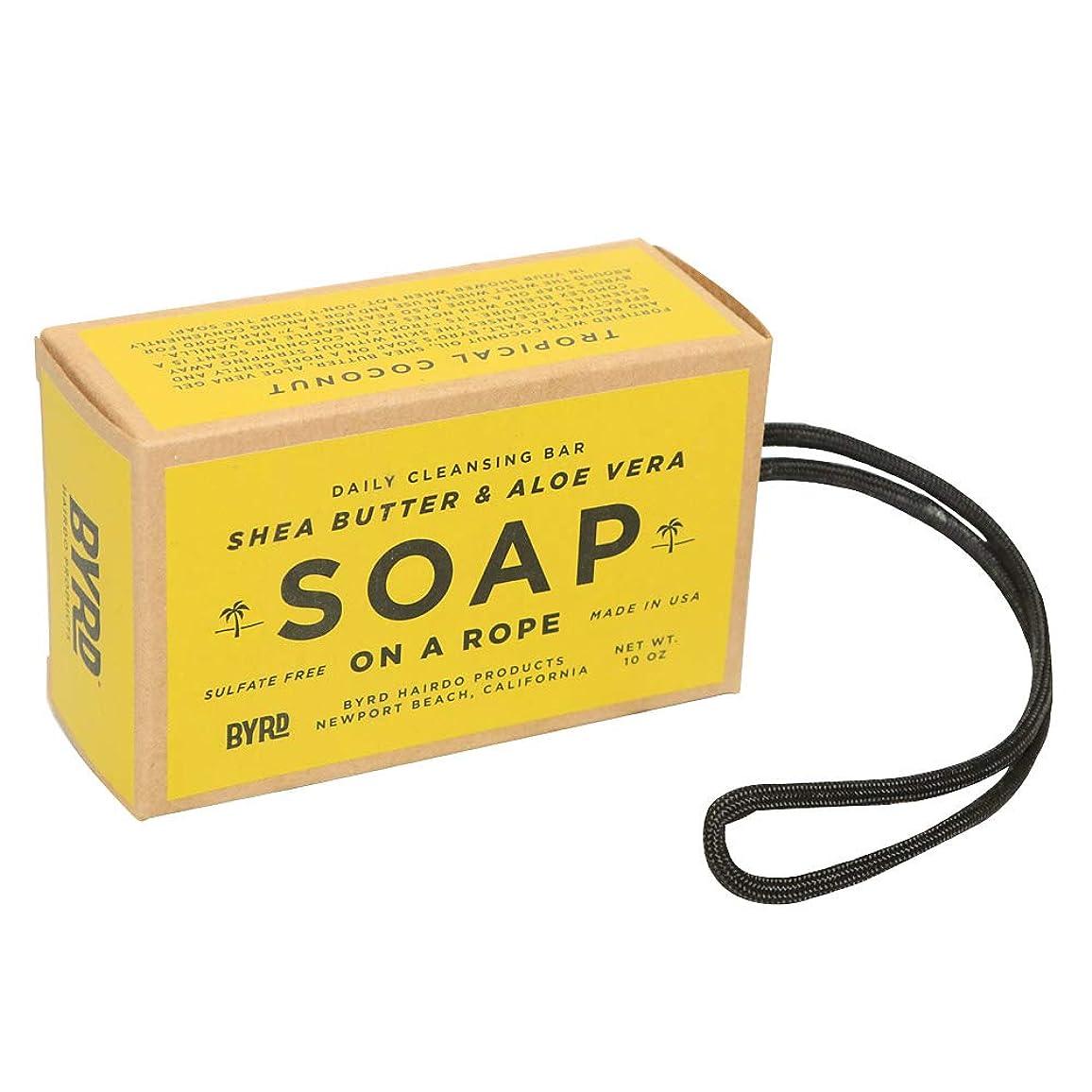 今日ハウス小さいBYRD バード SOAP ON A ROPE ソープオンアロープ 石けん #2096989